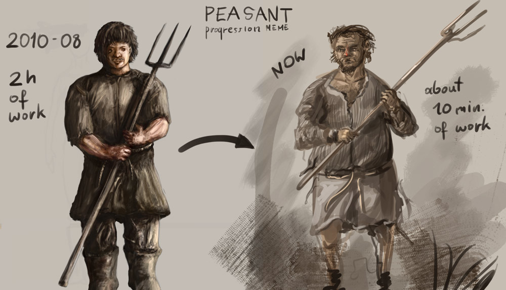 peasant progress by Ranivius