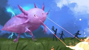 Axolotl attack!
