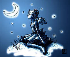 Moon Miss by KabochaN
