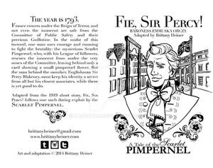 Fie, Sir Percy! cover