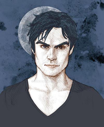Damon by KabochaN