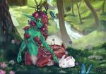 Gentle creatures by halibearish