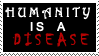 Truth About Humanity Stamp by geeksam311