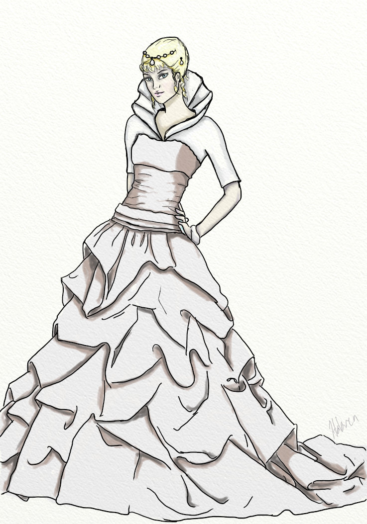 ball gown dress drawings - photo #5