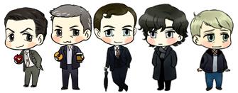 Sherlock minimes by planet715