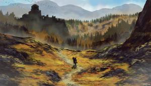 Pilgrim / speed painting by bakarov