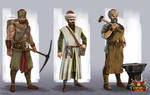 Character concepts for 'Ottoman Wars' game