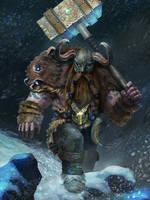 Dwarf Berserker by bakarov