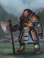 Dwarf Warrior by bakarov