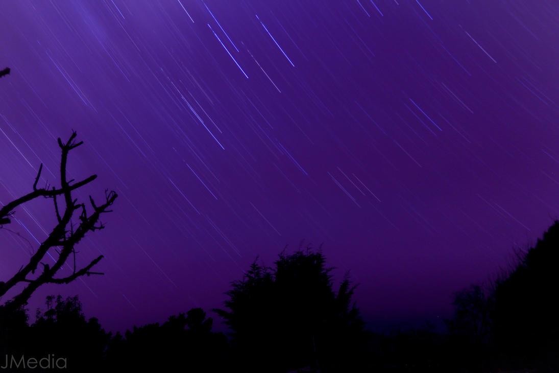 Falling stars by JonoMphotography