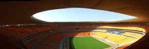 Soccer City Panoramic by EbenTRO