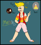 Melvin - Adopted OC by Vikkerz