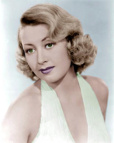 Joan Blondell by KaraKittyCat