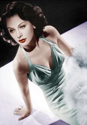 Heddy Lamarr by KaraKittyCat