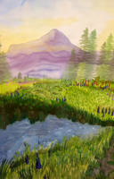 Mountain Landscape by MillieWright