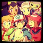 El harem de Ash