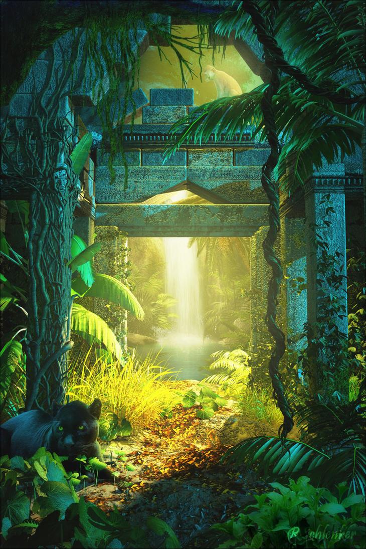 Hidden Temple by ubatuba74