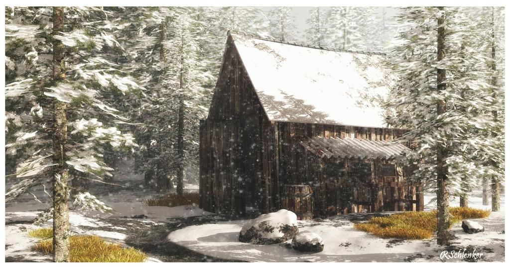 Cabin in the Woods by ubatuba74
