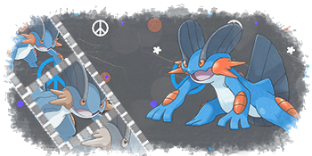 Swampert signature by IceWeavile