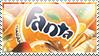 Fanta Naranja Stamp by Rikku2011