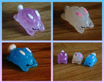 Resin Easter Bunnies Batch 2 For Sale