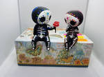 Sugar Skull Skeleton Couple