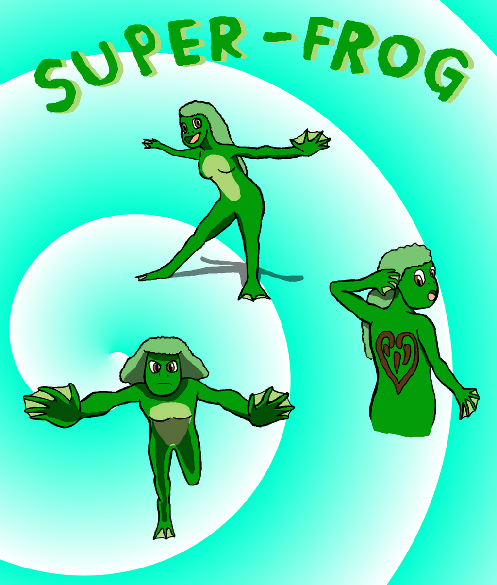 The super frog by kuveko2010 on deviantart for Frog transformation