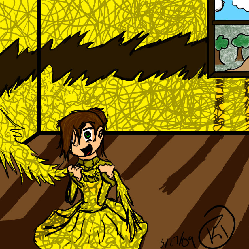 The Yellow Wallpaper By Quidnaminferorum On Deviantart