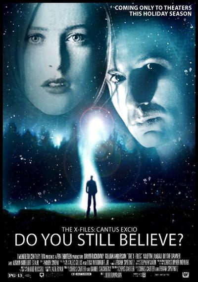X-Files Mock Movie Pos...X Files Poster