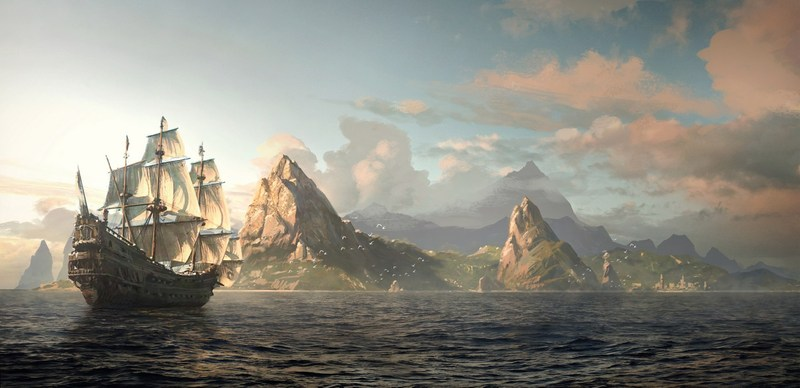 Assassin S Creed Iv Black Flag Wallpaper By Paradisegame On Deviantart