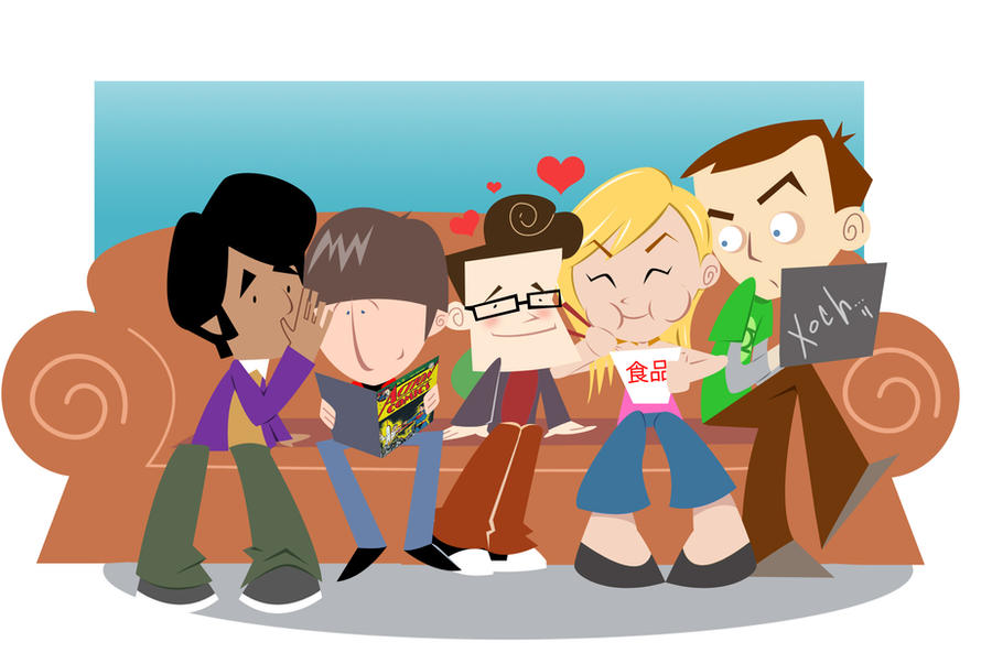 The Big Bang Theory by xochiltana