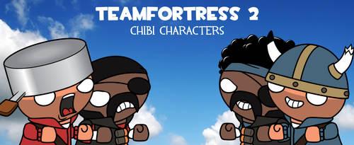 TF2 Chibi Soldier + Demoman by XxXFaNtA