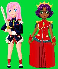 Utena and Anthy