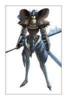 armor illustration 2G by irving-zero