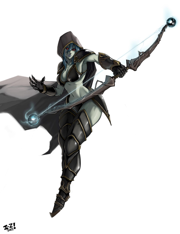 Drow Ranger v.3 by irving-zero