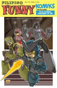 Combatron comic cover remake