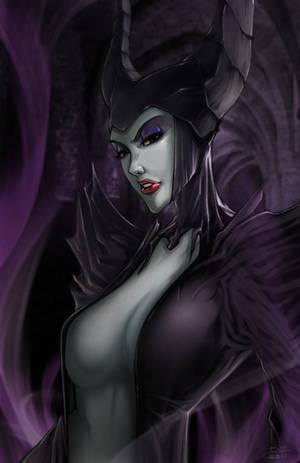 Maleficent by irving-zero