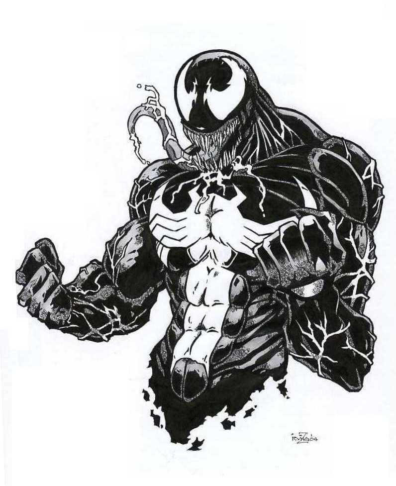 Gallery For gt Venom Face Drawings