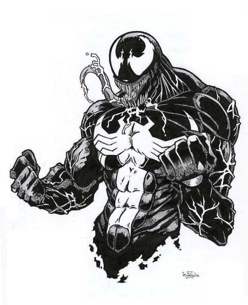 Venom By Irving Zero On DeviantArt