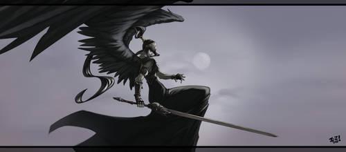 Selenia, Dark Angel by irving-zero