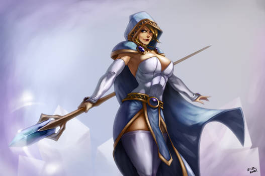 Crystal Maiden by irving-zero