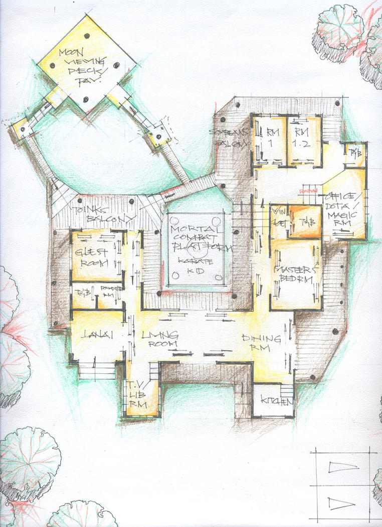 my japanese house floor plan by irving-zero
