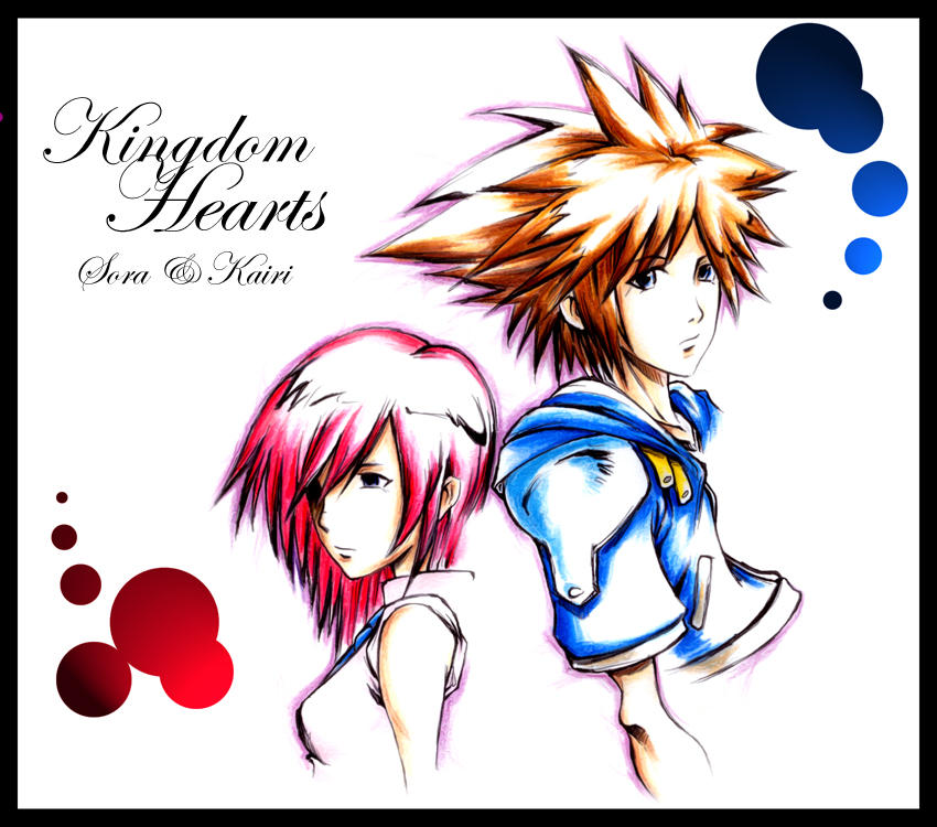 kingdom hearts 2 fanart by irving-zero