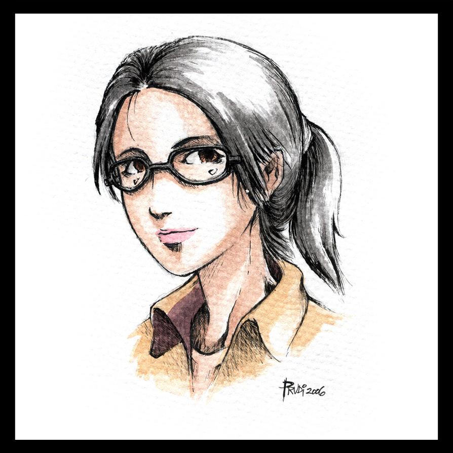 ...portrait... by irving-zero