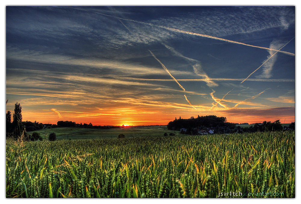 Sunset by jsw1tch