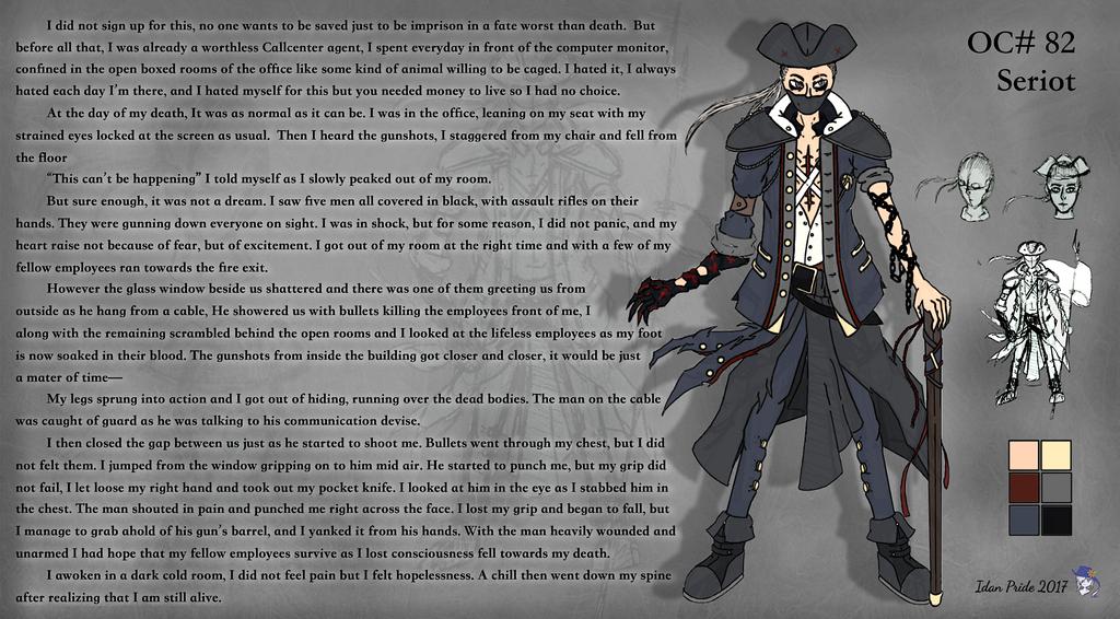 Character Spotlight: Basil by scygiex