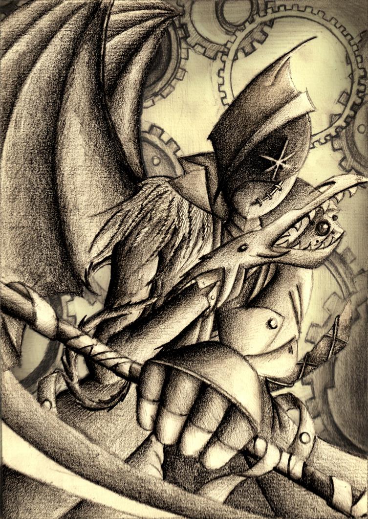 [OC#143] Dartai by scygiex