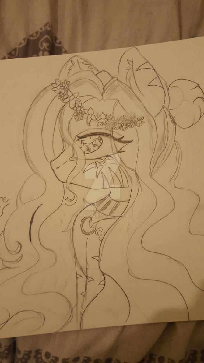 drawing of my oc