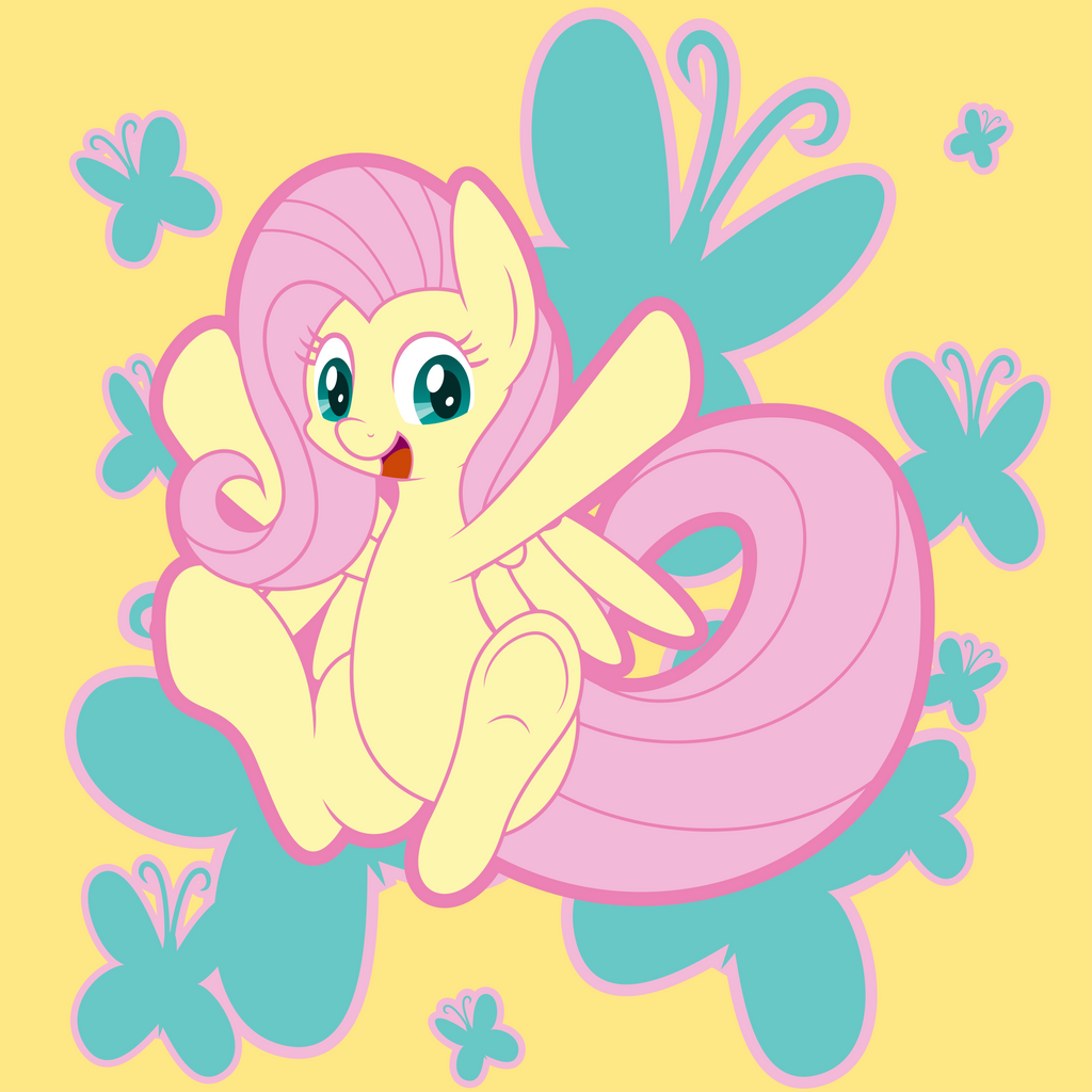Butterfly Butt Pony by MysteriousKaos