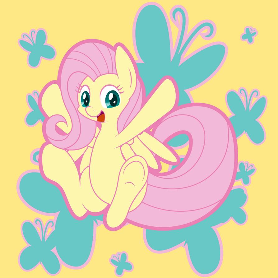 Butterfly Butt Pony by MysteriousKaos